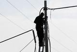 Elettricista lavoro all