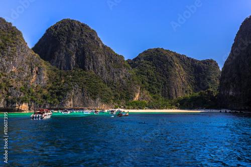 Poster Maya lagoon in Thailand