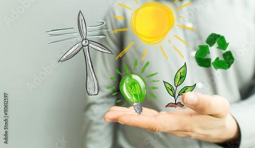 Foto Murales green power