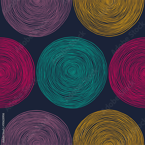 Seamless hand drawn pattern. - 110628906