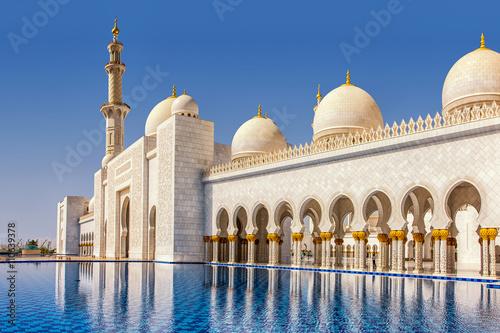 Schaich-Zayid-Moschee in Abu Dhabi