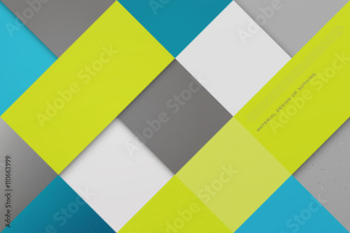 abstract, colorful background with square frames. vector geometric, fashion wallpaper template. material design backdrop. origami style, vector, business cards layout © metrue