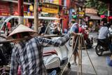 Woman Seller on Street