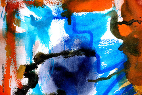 abstract paint background design - 110707193