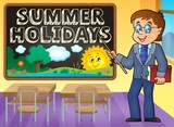 School holidays theme image 5