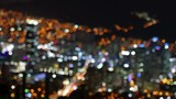 4K City Night View, Defocus, Out focus, Busan, South Korea