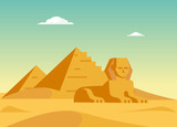 Pyramids And Sphynx - 110744112