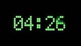 Digital time display