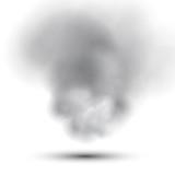 Fototapety Smoke on White Background