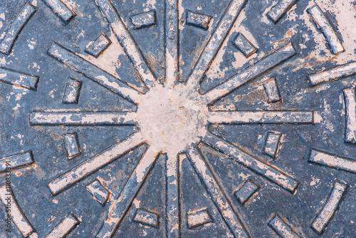 In de dag Tunnel Metal Lid Duct