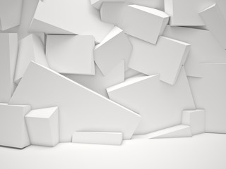 white cubes background © tiero