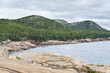 Three mountains in Acadia National Park