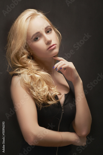 Young Blond Woman © tugolukof