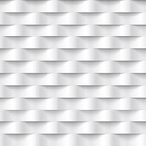 Abstract 3d white geometric background wallpaper