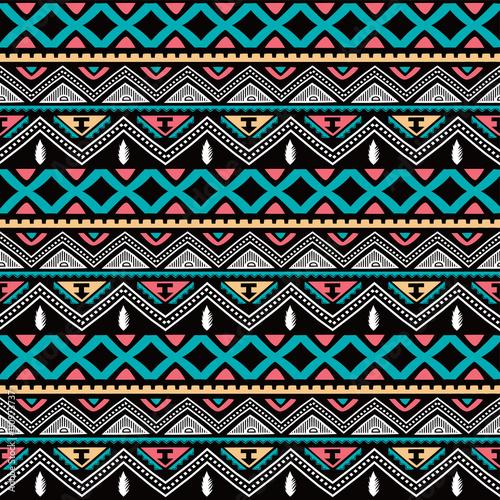Materiał do szycia koloru macierzystego etniczne wzór
