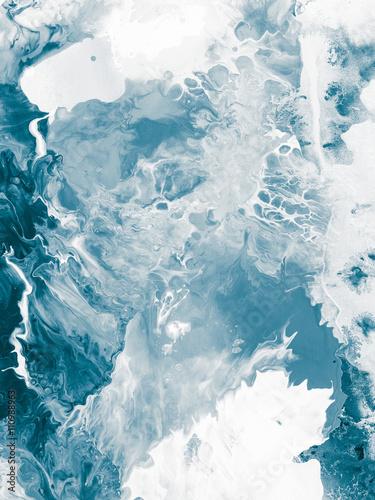 niebieska-marmurowa-tekstura-efekt-przeplywu