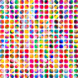 Abstract artistic watercolor stained dots background - 111002171