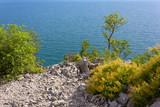 Adriatic Sea on the Trieste Coastline, Italy