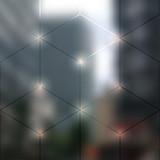 Fototapety Blur lights city background