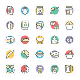Food Cool Vector Icons 8