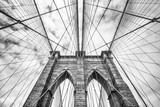 Fototapety Brooklyn bridge in NYC, USA
