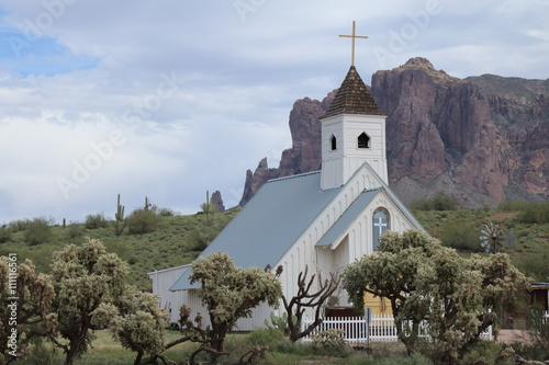 Poster Chapel at Superstition Mountain
