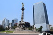 View of reforma  street, Mexico city