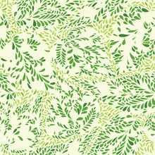 Bloemen patroon Leaves geweven betegelde achtergrond Ornamental floururish abstractie