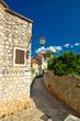 Stone architecture of Stari Grad on Hvar island