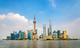 Shanghai skyline above the Huangpu River
