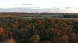Fall colors of Wisconsin
