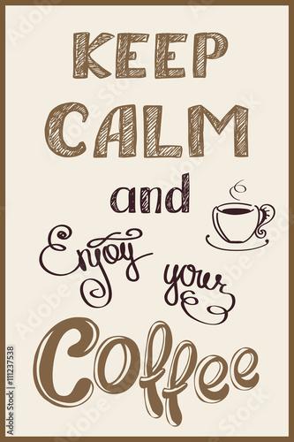 keep calm background Plakát