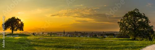 fototapeta na ścianę Panoramic view of Cracow from Krakus mood