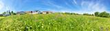 Fototapety Wohnen auf dem Land - Panoramafoto