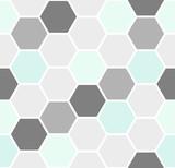 Hexagon Seamless Pattern - 111252962