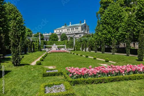 People's Garden (Volksgarten, 1821) - public park in Vienna.