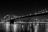 Booklyn Bridge at night - 111321397