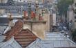 Rooftop view in Paris