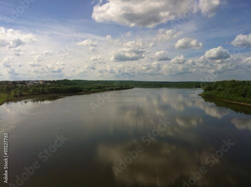 Fototapeta река