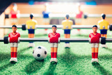 table football soccer game, abstract light
