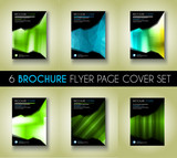 Set of Brochure template, Flyer Design or Depliant Cover for business