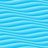 Abstract 3d blue geometric background wallpaper