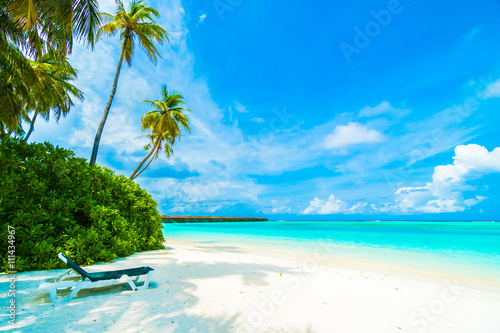 Leinwand Poster Malediven Insel