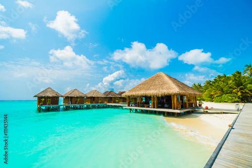Poster Maldives island