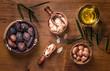 Quadro Argan fruit and oil composition