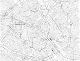 Mappa di Parigi, vista satellitare, strade e vie, Francia