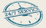 Service always open, 24 hours and 7 days a week