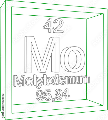Periodic Table Of Elements Molybdenum Buy Photos Ap Images