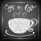 Enjoy your coffee, logo or background,