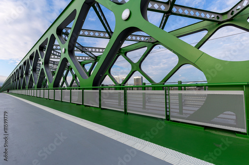 Poster Bratislava new bridge